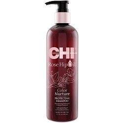 Farouk Systems Chi Rose Hip Oil Protecting Shampoo 340 ml