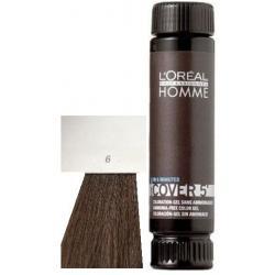 Loreal Professionnel Homme Cover 5 Hair Color 1 lahvička 50ml - 6 Tmavá blond