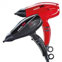 Profesionální fén BaByliss Pro BAB6180IBE - 2200 W, černý/červený
