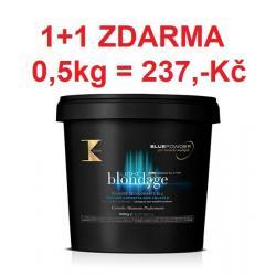 1ks + 1ks zdarma K-Time – Light Blondage – melírovací prášek 1000g