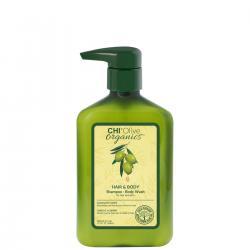 CHI Olive Organics shampoo - šampon s olivovým olejem 340ml