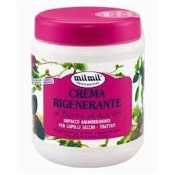 Mil Mil Bylinkový regenerační krém na vlasy 1000 ml - Al burro di carité