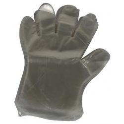 Igelitové rukavice 100ks