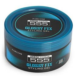 Men gel 555 glossy fix 250ml