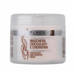 Black Maschera Cioccolato E Cheratina 500ml - vlasová maska
